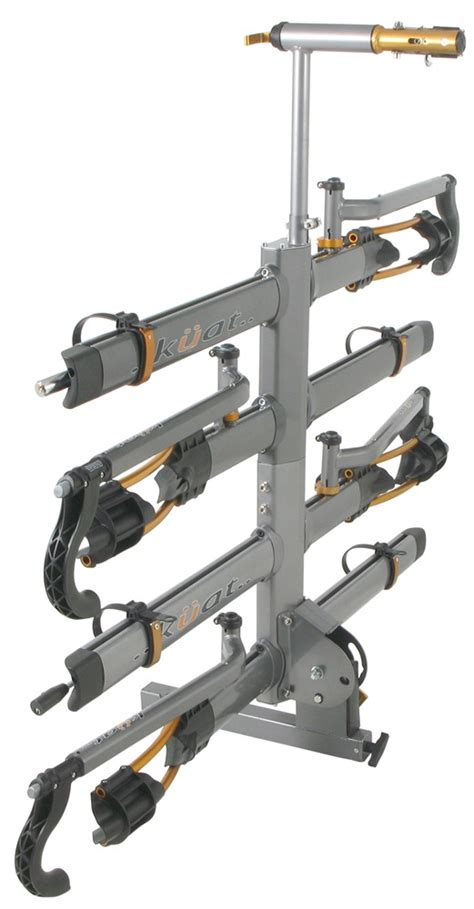 kuat nv 4 bike platform rack for 2 quot trailer hitches