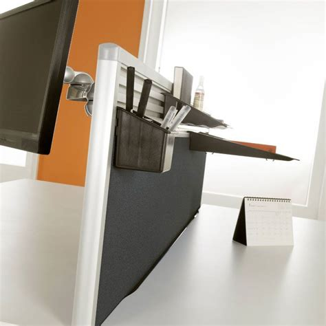 Office Chairs In Uk Desk Mounted Screens With Option For Tool Rail Desk