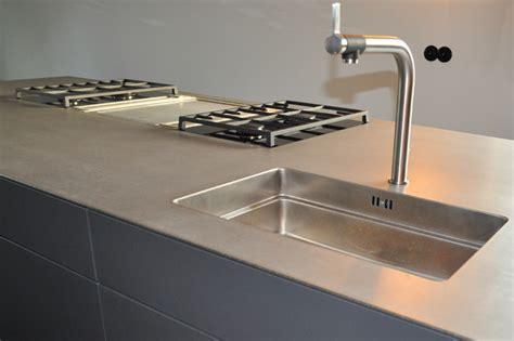 Modern Badezimmer Design 2358 by K 252 Che Nach Ma 223 Anthrazit Grifflos Mit Edelstahlplatte