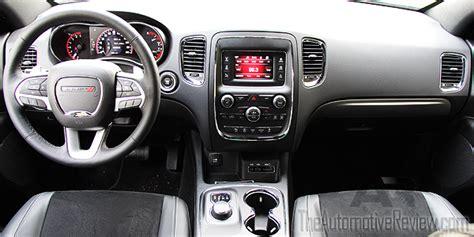dodge durango interior 2016 2016 dodge durango review the automotive review