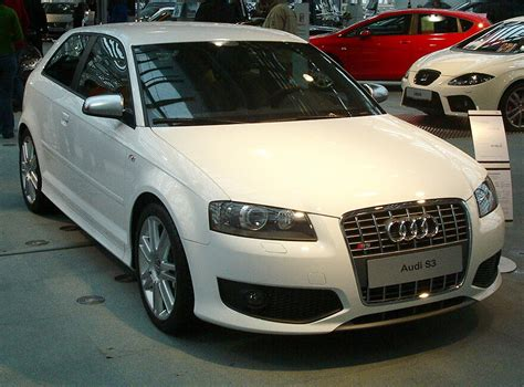 White S3 Audi by File Audi S3 White Jpg Wikimedia Commons