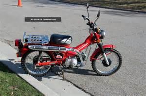 Trail 110 Honda 1986 Honda Ct Trail 110 Hi Low Transmission