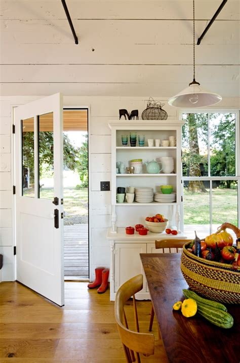 tiny home with a big kitchen cottage eco friendly home bunch interior design ideas