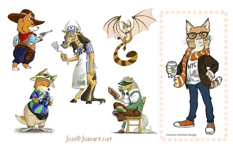 Animal Character 02 animal characters by joieart on deviantart