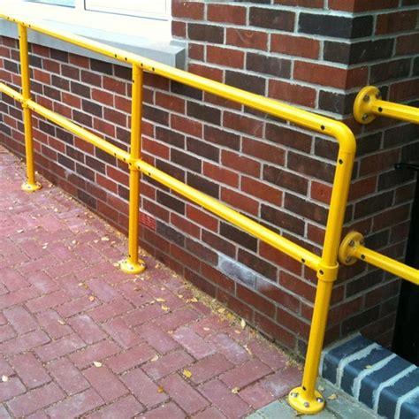 Modular Handrail tensabarrier modular steel handrail safety barrier 183 barriers direct