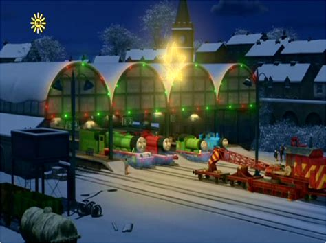 thomas  friends review station  ep  merry winter