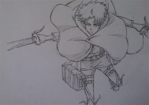 how to an attack attack on titan drawing levi www pixshark images galleries with a bite