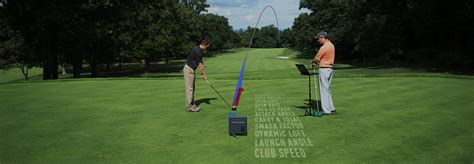 trackman golf swing analysis wayne o callaghan trackman analysis at the academy wayne