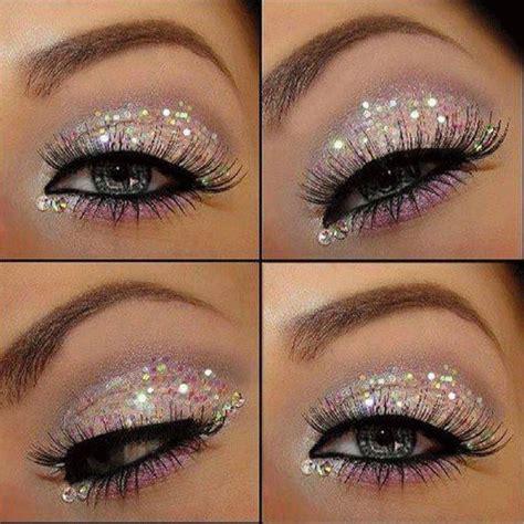 Eyeshadow Glitter Make How To Apply Glitter Eye Makeup