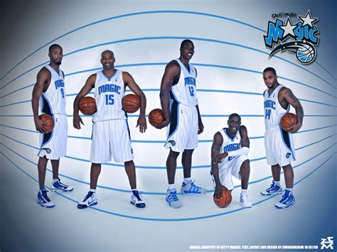 Orlando Magic Mba by Orlando Magic 2010 Starting Five Photo