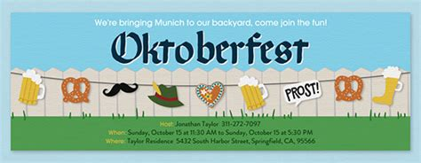 online oktoberfest party invitations evite com