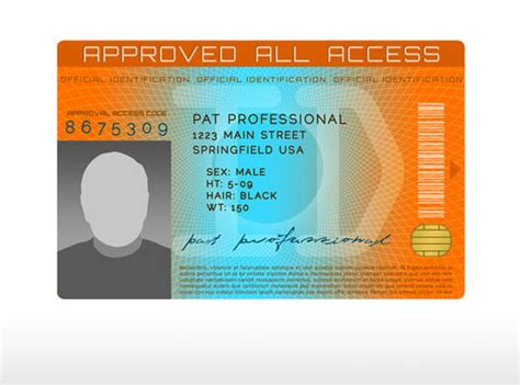 id templates for photoshop id badge layered psd template premium photoshop