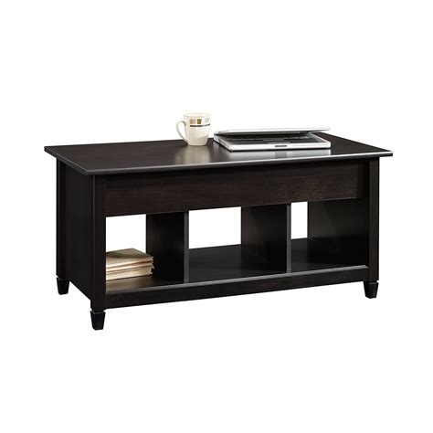 sauder coffee table set dorel living faux marble lift top coffee table
