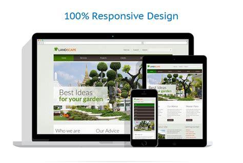 html responsive design max width landscape design responsive website template 39972