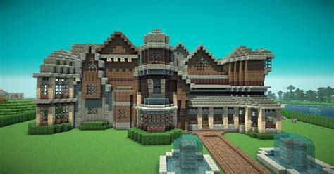 build a mansion estate buildings information portal