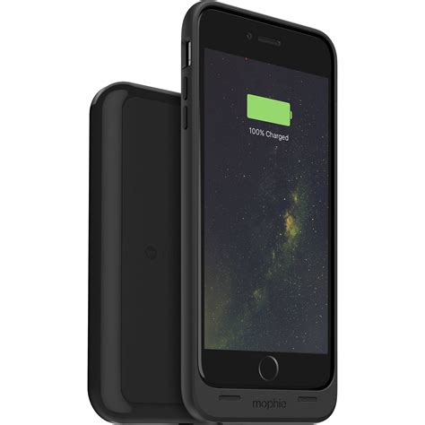 h iphone 6 mophie juice pack wireless battery for iphone 6 3411 b h