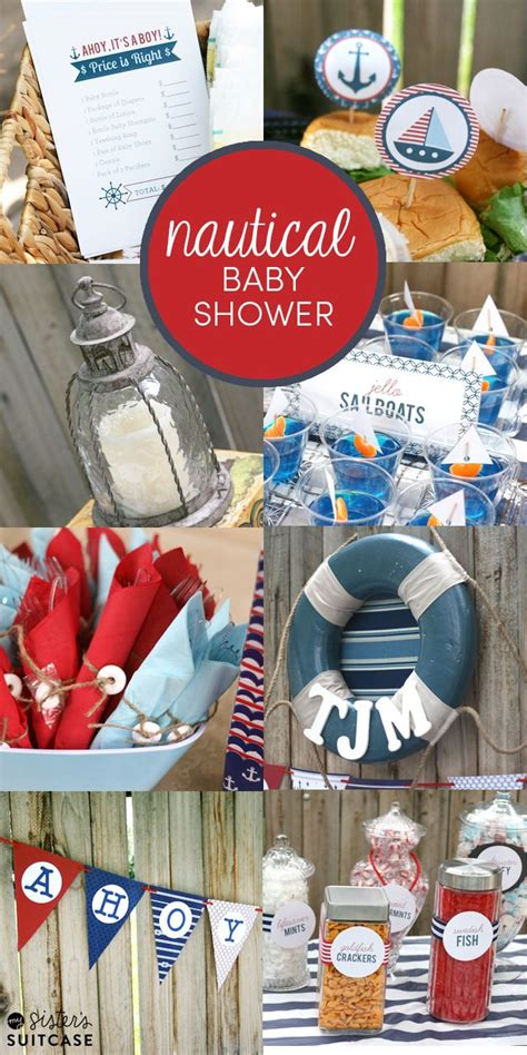 nautical themed baby showers must see ideas for a nautical themed baby shower food