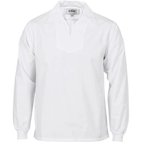 Hem Putih Polos Pendek No L7 Product Display Dnc Workwear Workwear Work Wear