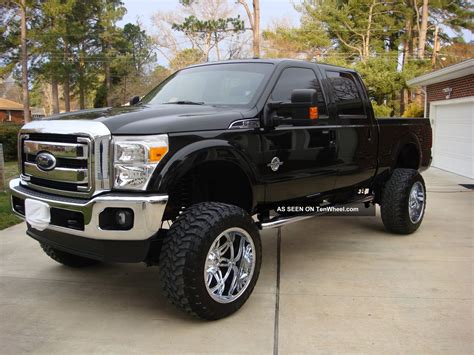 Ford 4 Door Truck by 2011 Ford F 250 Duty Lariat Crew Cab 4 Door 6 7l
