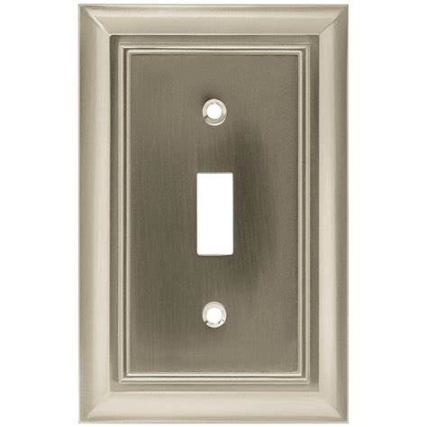 home depot light switch covers hton bay architectural 1 toggle switch wall plate
