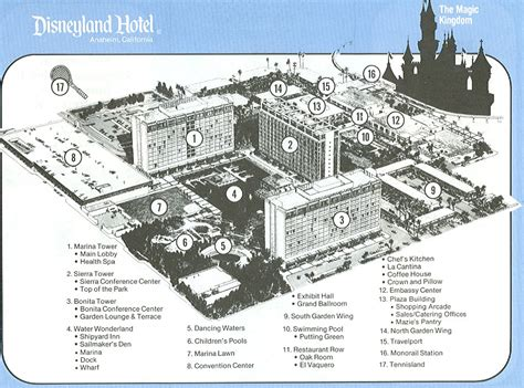 disneyland hotel room layout the original disneyland hotel the bonita tower