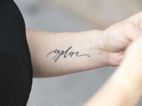 sul polso interno i tatuaggi sul polso pi 249 belli di melarossa