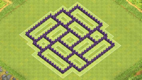 coc village layout for town hall 7 clash of clans town hall 7 defense coc th7 best trophy