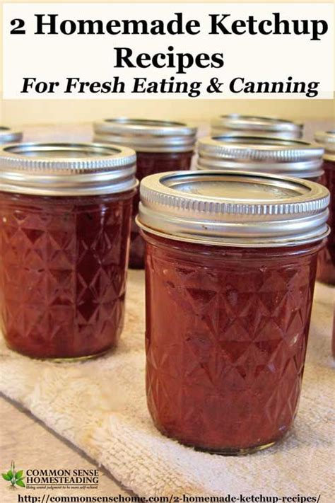 Best 25+ Homemade tomato ketchup ideas on Pinterest ... Homemade Ketchup Recipe Fresh Tomatoes