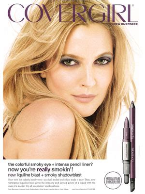 Drew Barrymore On March Cover Of by March 2011 Fashion Magazine Endorsement
