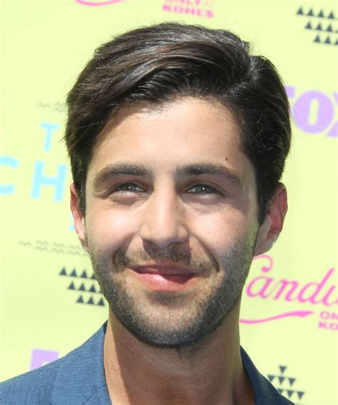 Josh Peck Short Straight Formal Hairstyle   Medium Brunette