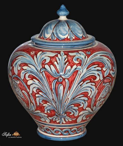 vasi di caltagirone 14 obx242a vasi in ceramica di caltagirone ceramiche