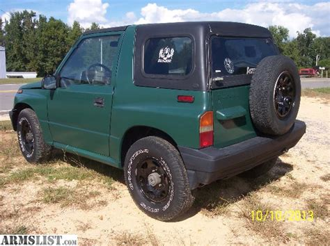 Suzuki Sidekick For Sale Armslist For Sale Trade 1988 Suzuki Sidekick 4x4 5 Speed