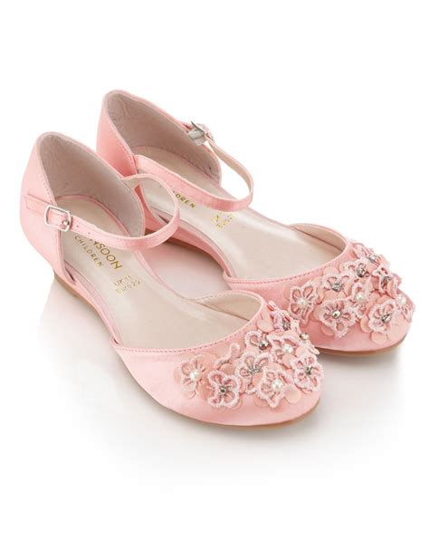 Flower Shoes by Pink Flower Shoes Monsoon 163 25 Flower