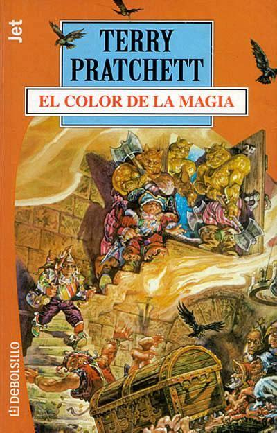 libro el color de la el color de la magia de terry pratchett