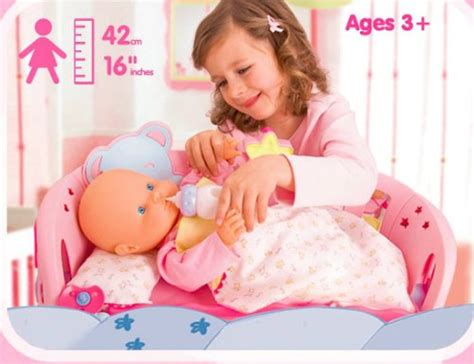 Little Tikes Bedroom Furniture nenuco sleep with me baby doll amp cradle review