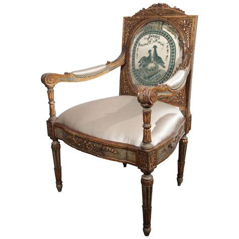 louis xvi armchair 18th century louis xvi armchair for sale at 1stdibs