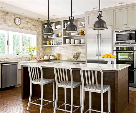 Kitchen Pendant Lights Over Island by A Bright Approach To Kitchen Lighting