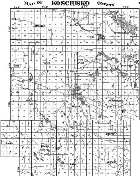 Chapter 25 Section 1 Counties Towns And Townships Answers by Kosciusko Co Land Research