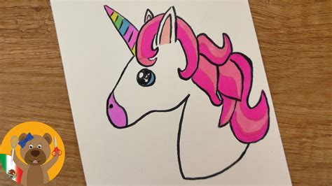 imagenes de unicornios hechos a lapiz diy dibuja tu propio kawaii emoji unicorn dibuja un