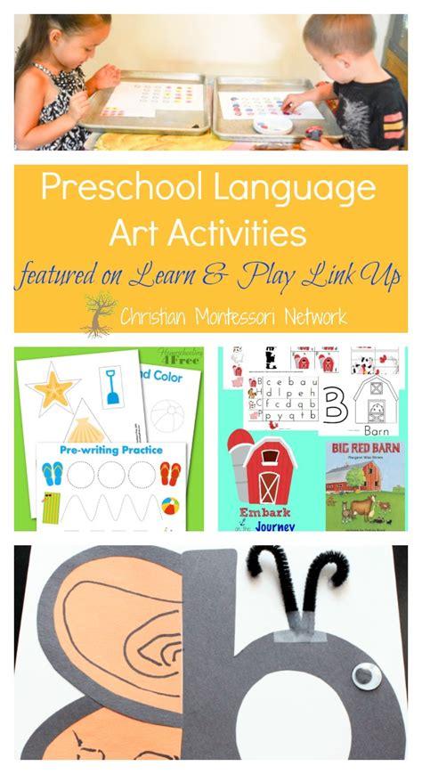 beach themed language arts activities preschool language arts activities