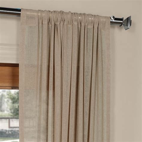 mauve faux silk curtains nude mauve solid faux linen sheer curtain