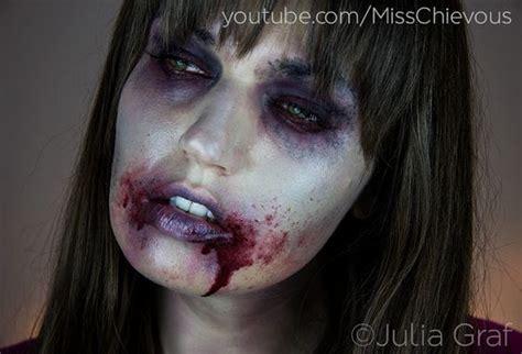 tutorial trucco zombie the walking dead zombie makeup zombie makeup tutorials and walking dead