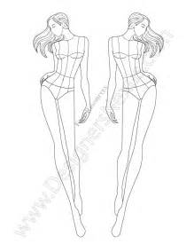 fashion illustration templates croquis on drawing poses fashion sketch