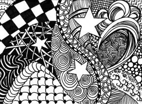 zentangle coping with cancer through doodle art