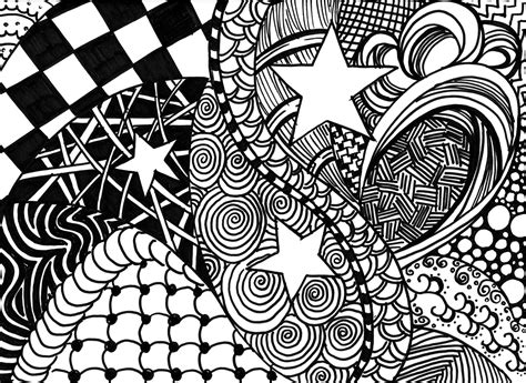 free coloring pages of zentangle letters