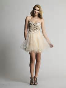 Buy tailor made a line spaghetti straps short champagne prom dresses