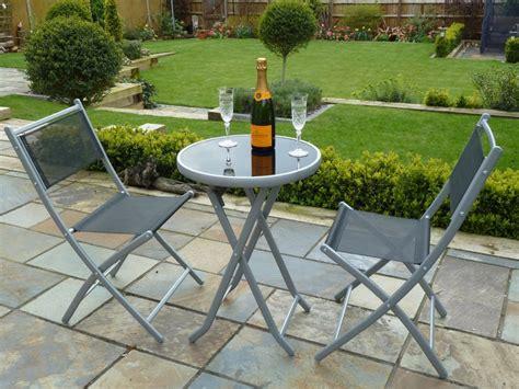 villa flora 3 piece cast aluminum patio bistro set w patio bistro set vifah glaser 3piece oilrubbed eucalyptus