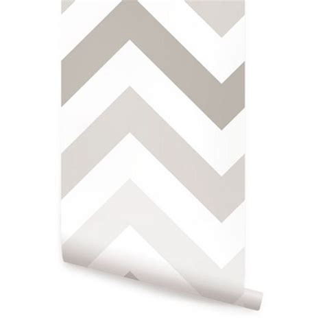 wallpaper peel and stick chevron warm grey peel and stick fabric wallpaper 2ft x