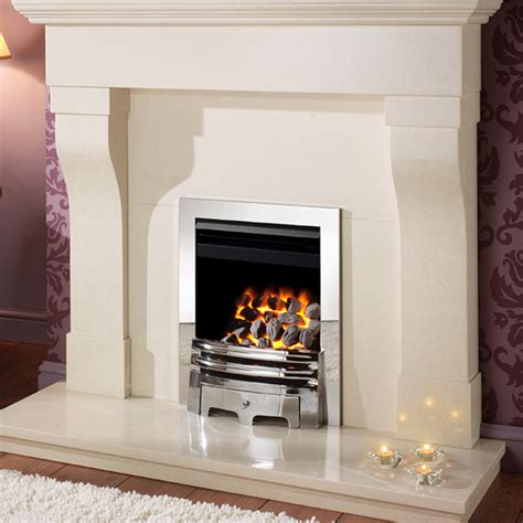 How To Open A Gas Fireplace by High Output Fires Gem Open Fronted Inset Gas