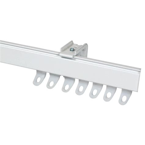 curtain track fineline curtain track white free uk delivery terrys